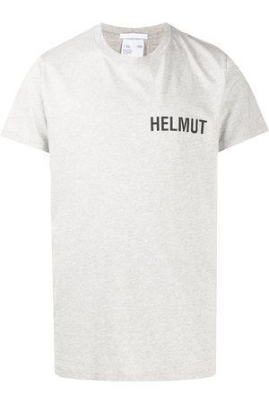 Helmut Lang Logo-print cotton T-shirt - Grey