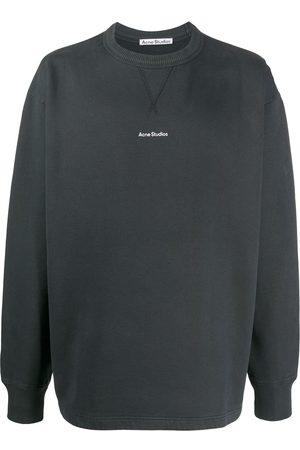 Acne Studios Logo print crew neck sweatshirt