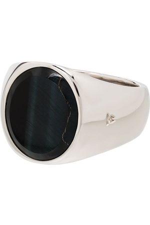 Tom Wood Sterling hawk's eye ring - 925 STERLING