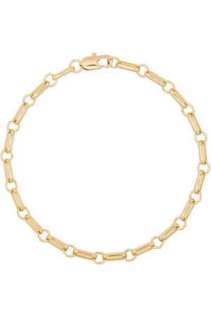 Laura Lombardi Plated bar chain anklet