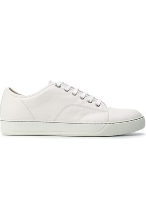 Lanvin Lace-up leather trainers