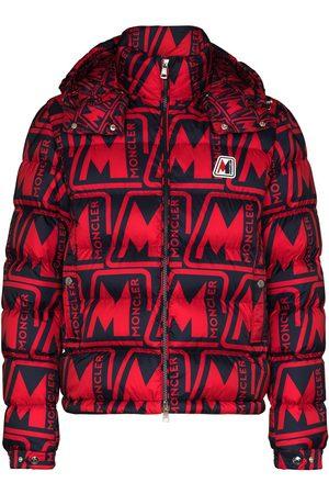 Moncler Frioland hooded logo-print down jacket