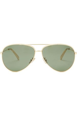 Céline Aviator Acetate Sunglasses - Womens - Dark