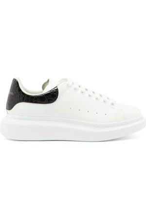 Alexander McQueen Exaggerated-sole Leather Trainers - Mens