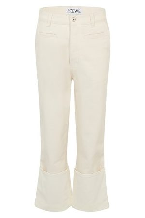 Loewe Women Straight - Fisherman jeans