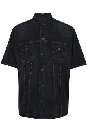 Balenciaga Light japanese denim shirt