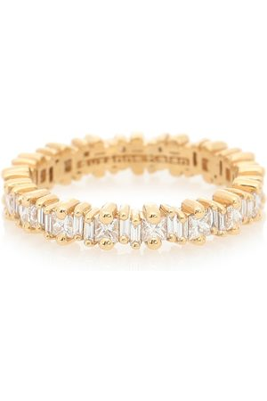 Suzanne Kalan Fireworks 18kt ring with diamonds