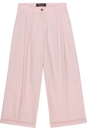 Loro Piana Annika stretch-wool pants