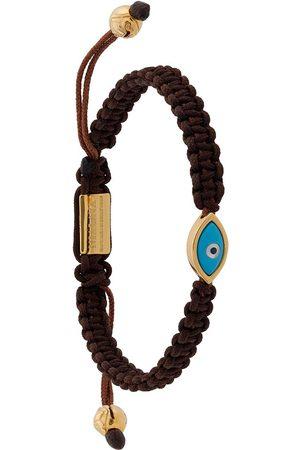 Nialaya Men Bracelets - Evil Eye string bracelet