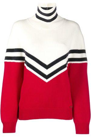 Dsquared2 Women Turtlenecks - Colour block roll neck jumper