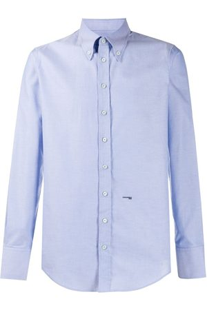 Dsquared2 Logo-embroidered button-down shirt