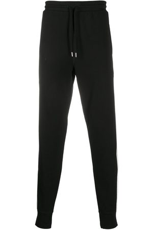 Diesel Tapered side stripe sweatpants