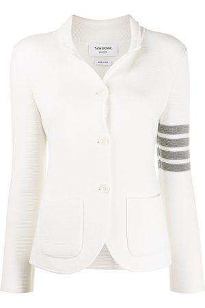 Thom Browne Women Blazers - Links Stitch Classic SB Sport Coat w/ 4 Bar In Fine Merino Wool