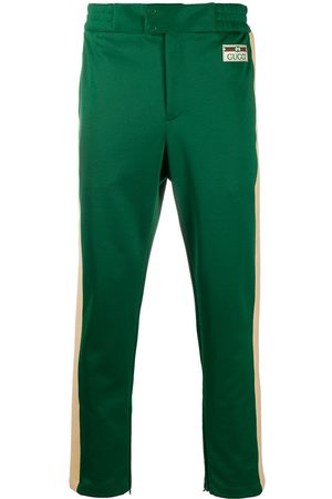 Gucci Men Sweatpants - Side-stripe track pants