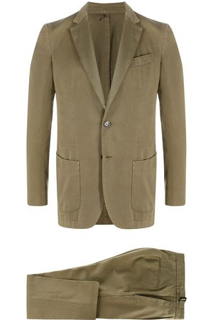 DELL'OGLIO Fitted two-piece suit