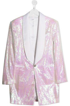 Balmain TEEN sequin blazer