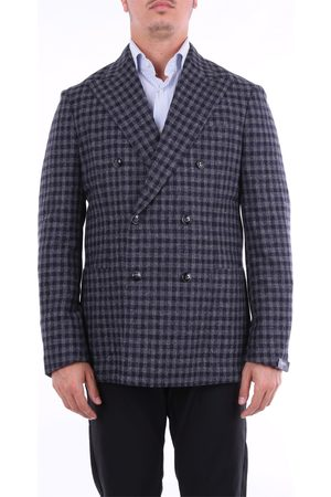BARBA Blazer Men and wool - silk and linen