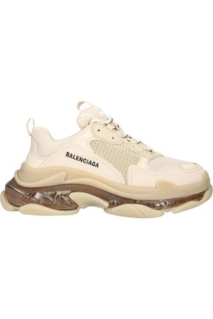 Balenciaga Women Running - Triple S clear sole sneaker