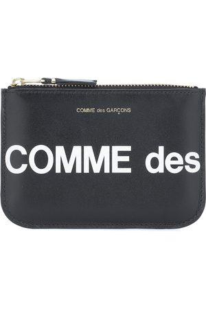 Comme des Garçons Huge Logo Small leather pouch