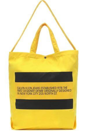 Calvin Klein Logo Small nylon tote