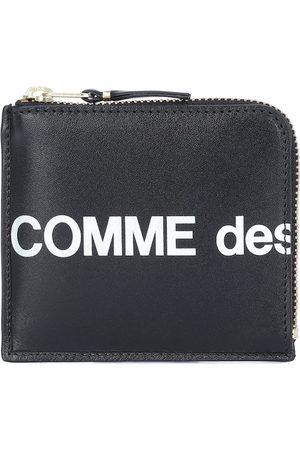 Comme des Garçons Huge Logo Small leather wallet