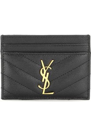 Saint Laurent Monogram quilted leather card holder