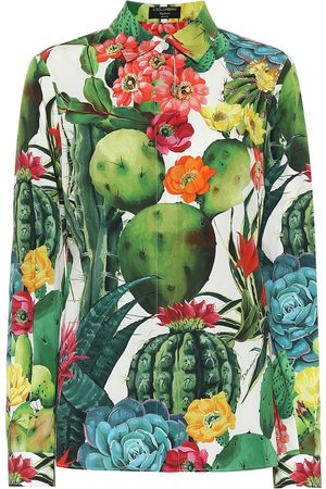 Dolce & Gabbana Exclusive to Mytheresa – Printed cotton-poplin shirt