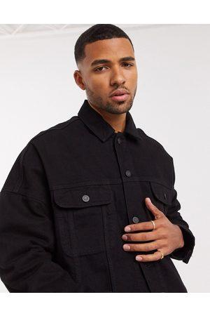 ASOS Oversized denim jacket in