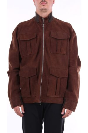 BARBA Leather jackets Men