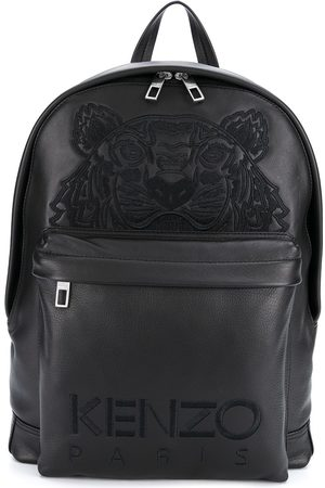 Kenzo Men Rucksacks - Logo-embroidered backpack