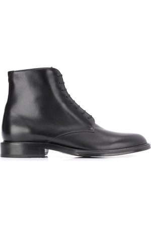 Saint Laurent Men Ankle Boots - Army laced ankle boots