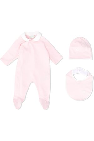 Fendi Pajamas, hat and bib set