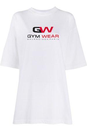 Balenciaga Women Sports T-shirts - Gym Wear oversized T-shirt