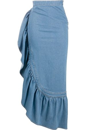 Roberto Cavalli Women Maxi Skirts - Long ruffled skirt