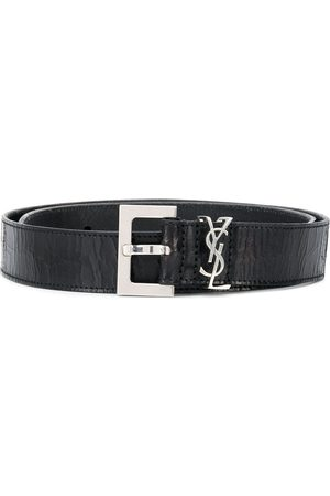 Saint Laurent Monogram logo belt