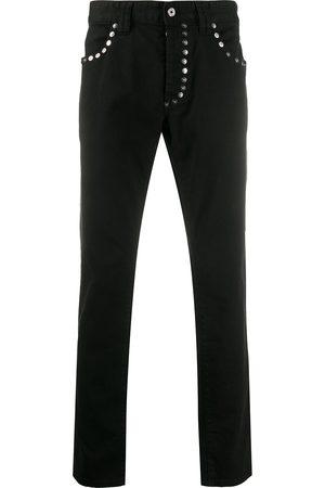 Just Cavalli Men Straight - Studded straight jeans