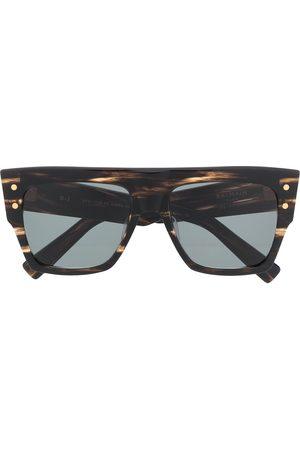 Balmain B-1 square-frame sunglasses