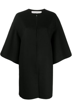 VALENTINO Double-faced compact drap cape