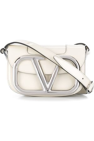 VALENTINO GARAVANI Small Supervee crossbody bag - Neutrals