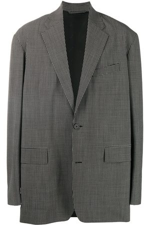 Balenciaga Checked boxy-fit blazer