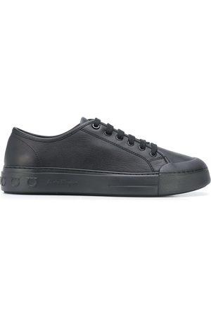 Salvatore Ferragamo Men Sneakers - Gancio low-top sneakers