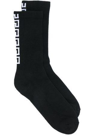 VERSACE Men Socks - Patterned ribbed socks