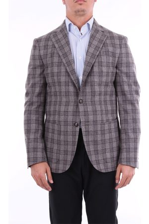BARBA Blazer Men Tortora