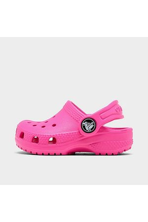 Crocs Kids' Toddler Classic Glitter Clogs