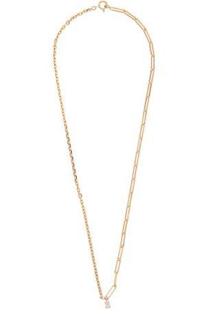 YVONNE LÉON Women Necklaces - Diamond & 18kt Mixed-chain Choker - Womens