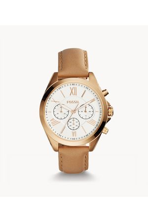 Fossil Women's Modern Courier Chronograph Tan Leather Watch