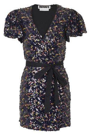 ROTATE BIRGERCHRISTENSEN Women Party Dresses - Frida short dress