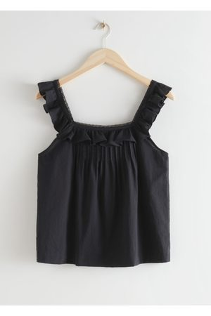 & OTHER STORIES Sleeveless Ruffle Top