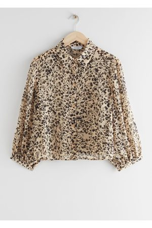 & OTHER STORIES Boxy Button Up Blouse