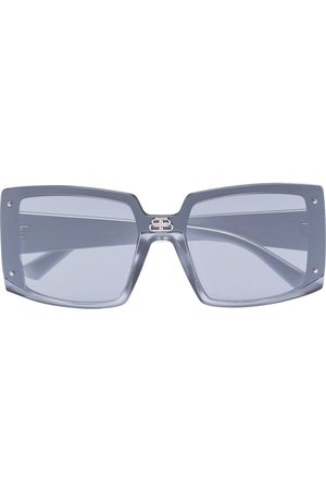 Balenciaga Square-frame tinted sunglasses - Grey